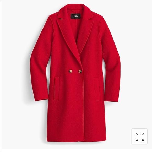 f3b5bf3ff16 Daphne topcoat in Italian boiled wool